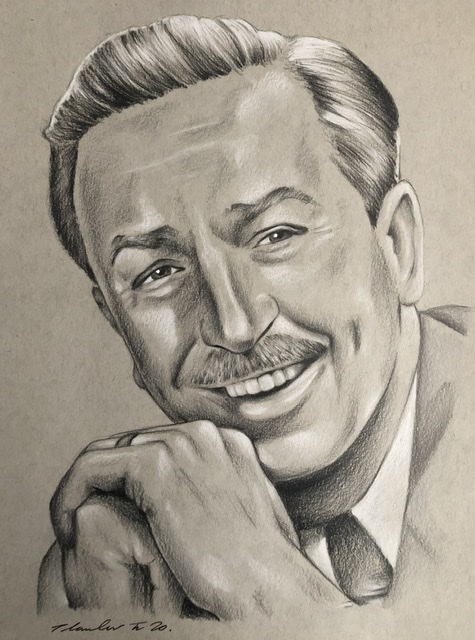 Walt Disney by TraceyLawler